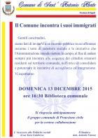 manifesto immigrati