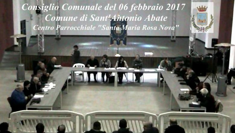 consiglio comunale 6 febbraio 2017
