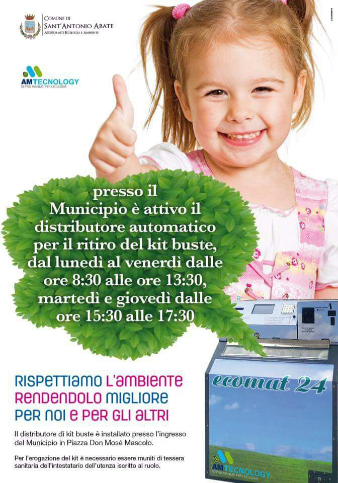 distributore kit buste
