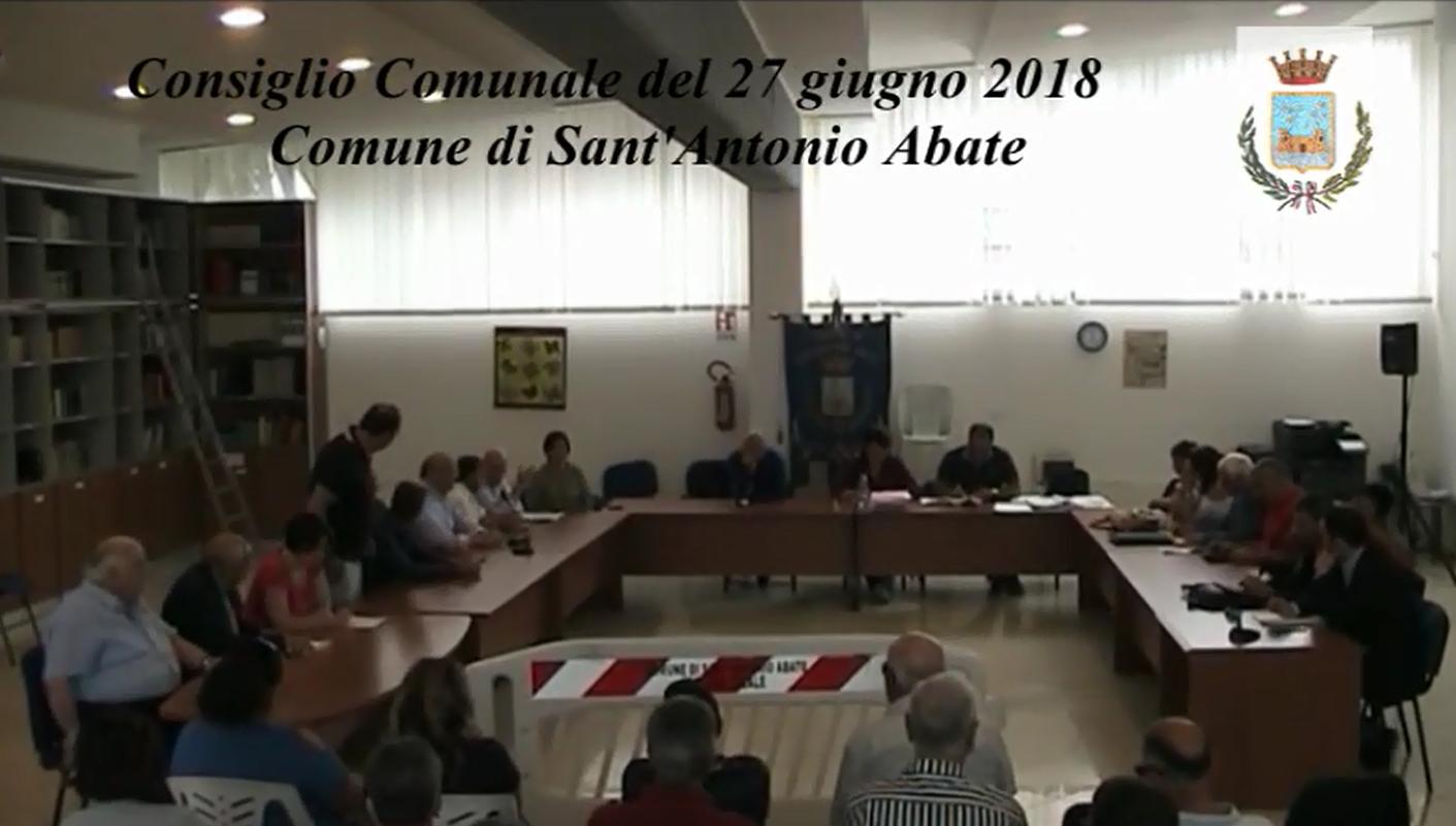consiglio comunale 27 giugno 2018