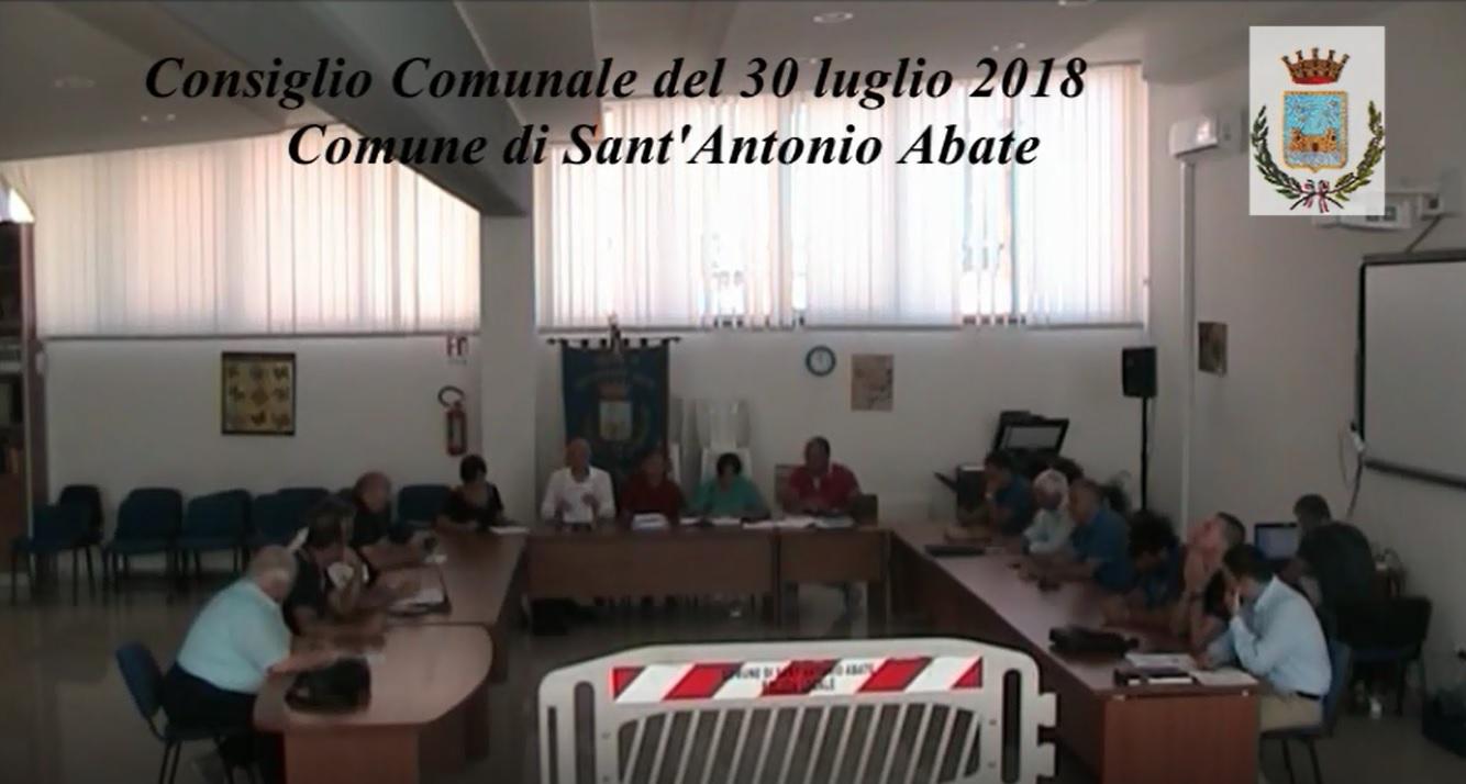 Consiglio Comunale del 30 Luglio  2018