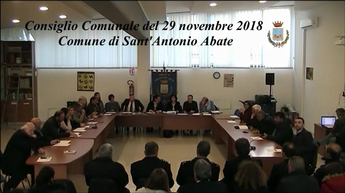 consiglio comunale 29 novembre 2018