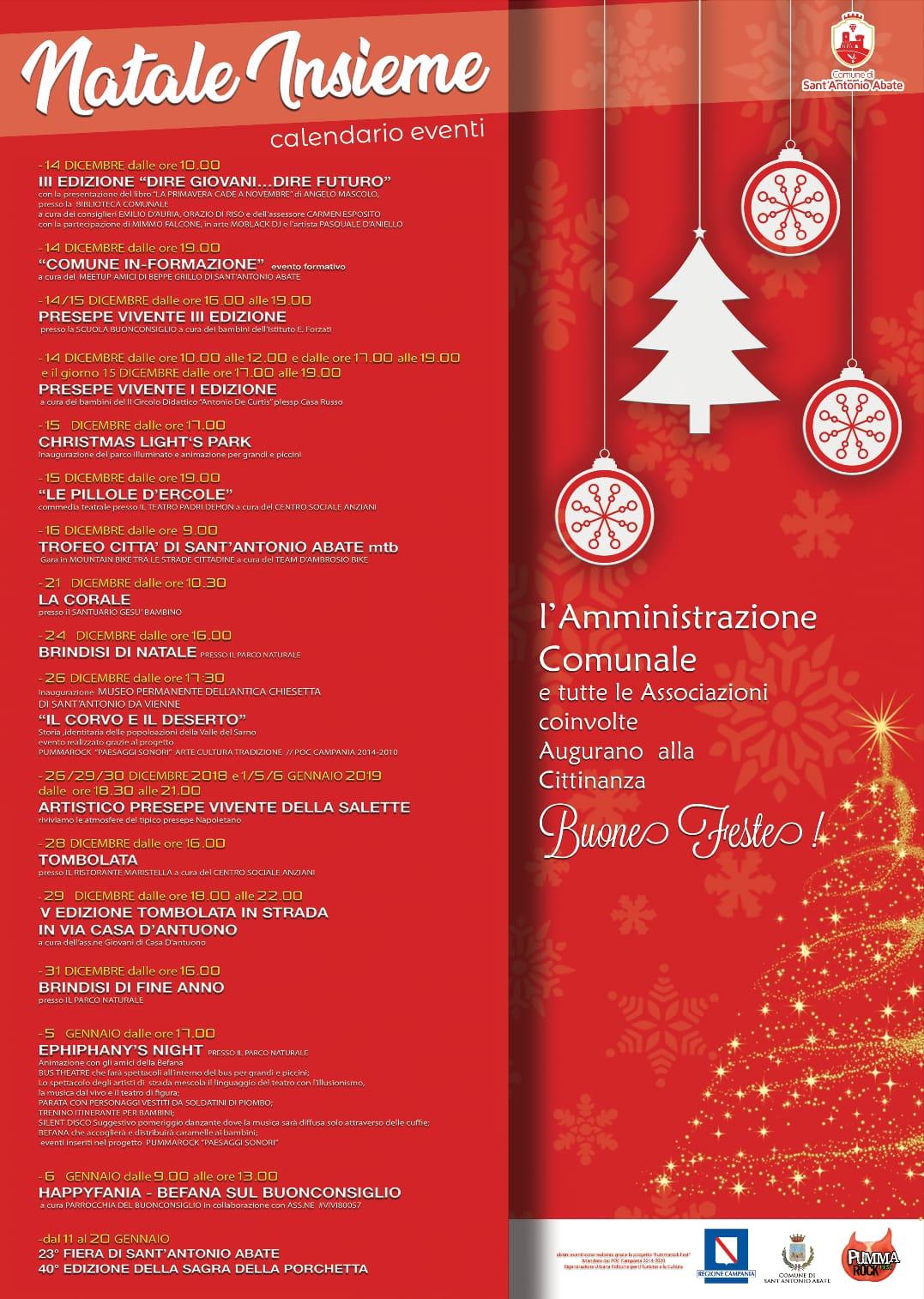 Natale Insieme - calendario evento