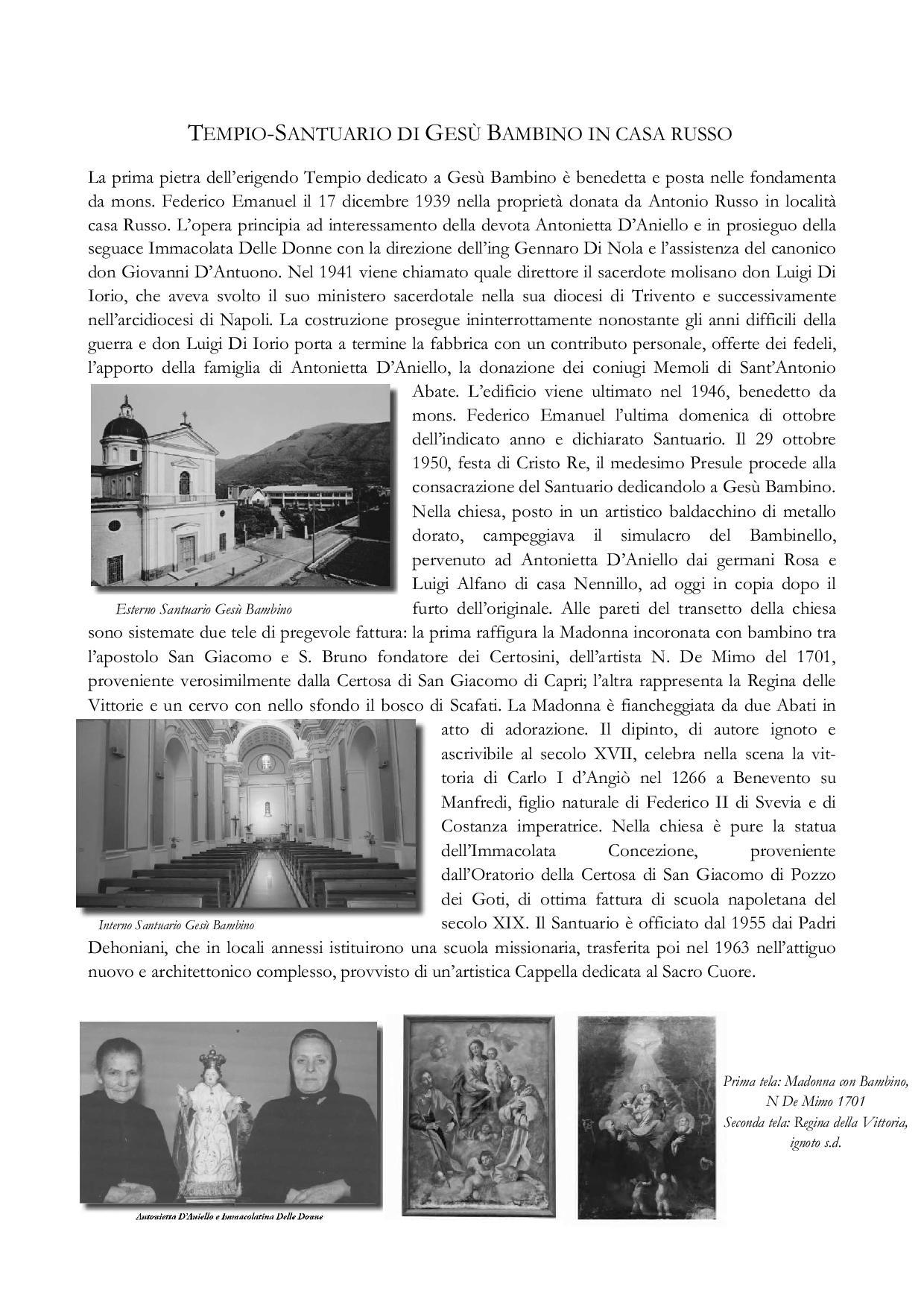 Tempio-Santuario di Gesù Bambino in Casa Russo