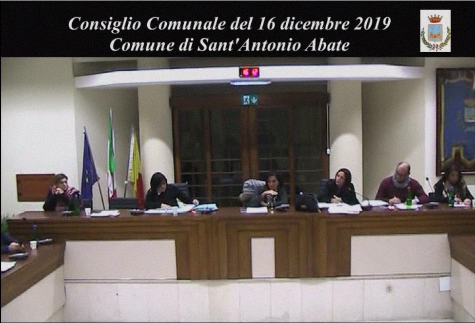 consiglio comunale 16 dicembre 2019