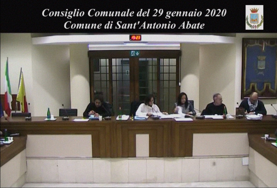 consiglio comunale 29 gennaio 2020