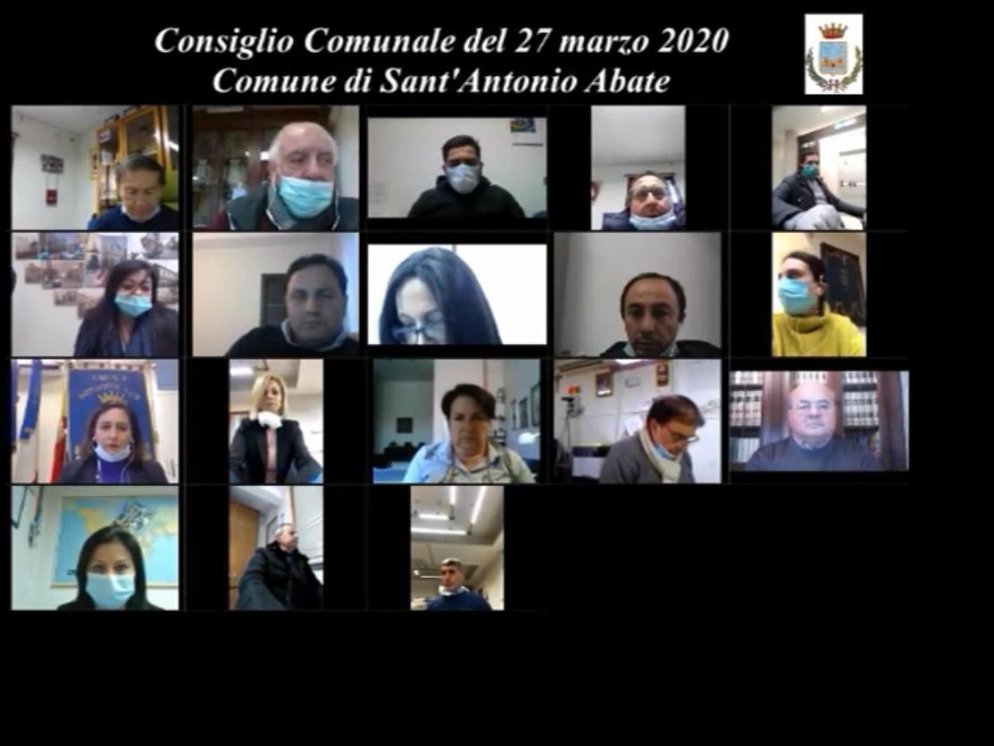 consiglio comunale 27 marzo 2020