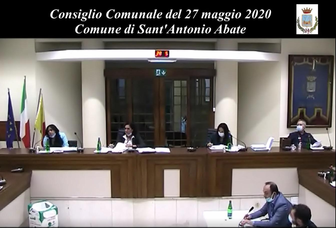 consiglio comunale del 27 maggio 2020