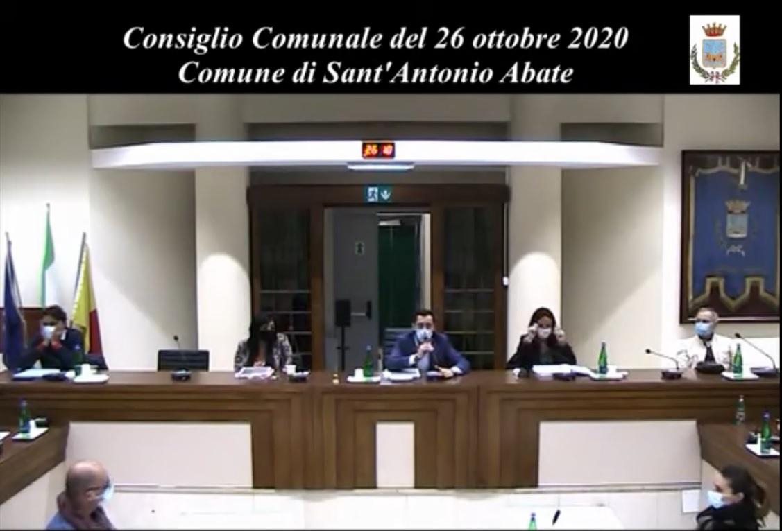 consiglio comunale 26 ottobre 2020