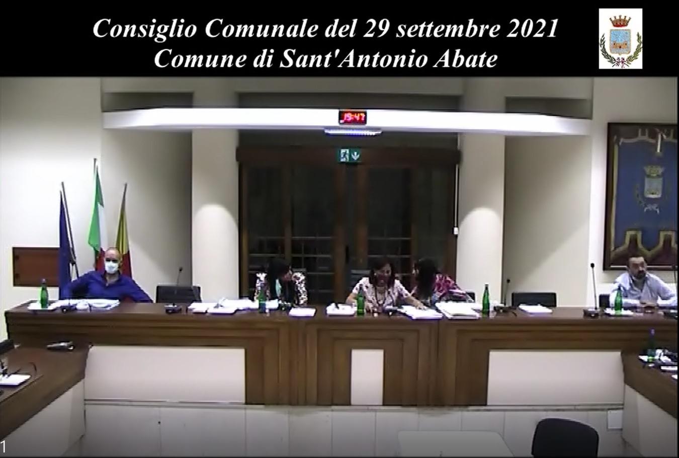 consiglio comunale 29 settembre 2021